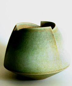 Yummy glaze & form by German ceramic artists Inke & Uwe Lerch. via Venice Clay Artists