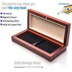 Pen Case like this on sale  https://www.etsy.com/listing/508557888/wooden-pen-presentation-box-for-fine   #pencase #trobeepens #handmade #penbox
