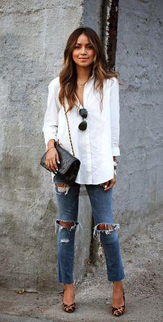 White shirt mix