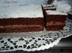torta al cacao sofficissima con ripieno di crema di cioccolato e mascarpone