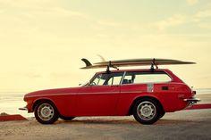 The Volvo p1800