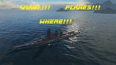 World Of Warships Amagi and Colorado gameplay