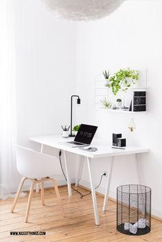 Schreibtisch-Inspiration: Ein Urban Jungle mal anders. Auf nicestthings mit Etsy.