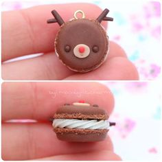 Heres 2 little macaroons too!