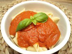 Tomatensoße auf Vorrat, ein sehr leckeres Rezept aus der Kategorie Italien. Bewertungen: 156. Durchschnitt: Ø 4,7.