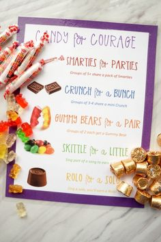 Candy for Courage Primary Singing Time (and link to LDS Primary Music Leaders FB Page) Primary Songs, Primary Singing Time, My Singing, Primary Activities, Lds Primary, Singing Lessons, Primary Lessons, Singing Tips, Lessons For Kids