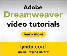 Dreamweaver Tutorials By Lynda. Dreamweaver Tutorial, Adobe Dreamweaver, Graphic Design Tips, Web Design, Creative Suite, Design Basics, Computer Tips, Instructional Design, Second Language