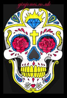 Resultados de la Búsqueda de imágenes de Google de http://fc00.deviantart.net/fs44/i/2009/061/7/4/sugar_skull_vector_by_GinJones.jpg