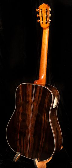 Custom Acoustic Guitar, Brazilian Rosewood Guitar, Lichty Guitars