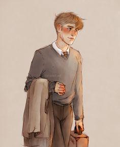 Professor Lupin by Natello's Art