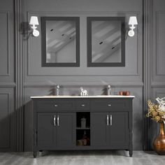 Unique, elegant, and trendy, Otto vanities are also sturdy, durable, and easy to care for. The vendor brought the experience from four different continents together into this vanity concept project. #bathroomvanity #bathroomvanitytops #homedecorideas #bathroomdesign #homedesignideas #interiorandhome #bathroomvanityideas #interiordesignlovers #myhouzz #homebeautiful #designdetails #interiordesignjunkie #bathroomvanityunit #bathroomdesignideas #vanityroom #vanity #vanitymirror… Bathroom Vanity Units, Vanity Room, Vanity Cabinet, Bathroom Vanities, Bath Showroom, Double Sink Vanity, Tile Art, Continents, House Design