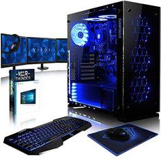 #Sale VIBOX Nebula GL780T 123 #Komplett #PC #Paket #Gaming #PC   4 5GHz #Intel i7 #Quad #Core ...  Tagespreisabfrage /VIBOX Nebula GL780T-123 Komplett-PC #Paket #Gaming #PC  4,5GHz #Intel i7 #Quad #Core CPU, #GTX 1080 #Ti, leistungsfaehig, #Desktop #Gamer #Computer #mit Spielgutschein, 3x Dreifach 22″ Monitor, #Gamer Tastatur & Mouse, Windows 10, #Blau Innenbeleuchtung, lebenslange Garantie* (4,2GHz (4,5GHz Turbo) Superschneller #Intel i7 7700K Kabylake #Quad 4-Core Prozess