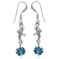 1.1ct. Natural London Blue Topaz 925 Sterling Silver Victorian Style Dangle Earrings Silvershake,http://www.amazon.com/dp/B00J4E5972/ref=cm_sw_r_pi_dp_npBntb1RHE42RFFN