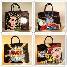 art on hermes bags - Google Search