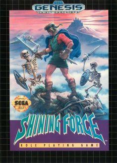 Shining Force - Sega Genesis