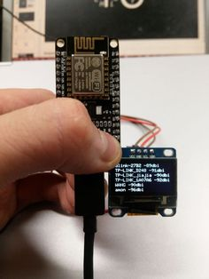 Seeed Recipe - WiFi Scanner -Know the WiFi Signal around you #ESP8266 #OLED