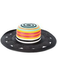 Shop Missoni striped sun hat.