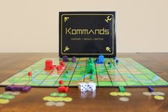 Gather, Build, Battle! Kommands is an epic open board strategy game where you gather or steal resources, build up your civilization, command armies and destroy your enemies to dominate the map and reign supreme ruler. #boardgames #boardgamegeek #boardgame #tabletop #bgg #games #indiegame #gamenight #game #dice