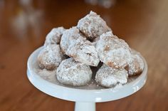 Pecan Sandies Cookie Recipe. Butter, powdered sugar, flour, pecans, vanilla.