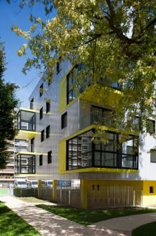 OP 13 by Philippe Dubus Architectes  #architecture #arq #building #housing #apartment