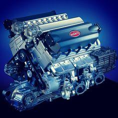 Bugatti Veyron Engine l Bugatti Veyron, Bugatti Cars, Bugatti Motor, Ferrari F40, Lamborghini Gallardo, Maserati, Motor Engine, Car Engine, Diesel