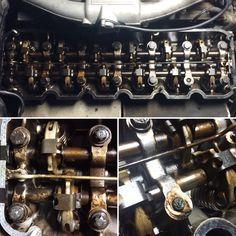 Bmw E30 6 cylindres  Réglage de soupapes et changement des vis de culasse