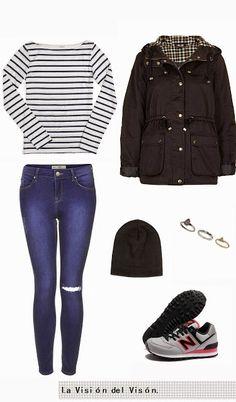 La Visión del Visón: Basics || Striped T shirt T Shirt, Fashion, Striped T Shirts, Shirts, Supreme T Shirt, Moda, Tee, La Mode, Fasion