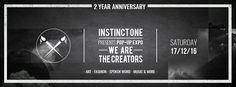 #2 year anniversary Instinct One, Bank 15, Tilburg  [17-12-2016]