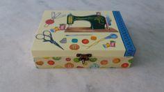 Caixa de costura  www.elo7.com.br/esterartes