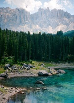 I went to Lago di Carezza Italy. I can see why they call it Rainbow Lake http://ift.tt/2yd8KMf