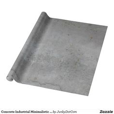 Concrete Industrial Minimalistic Grey Wrapping Paper