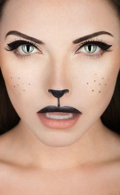 Cool and Scary Makeup Looks for This Halloween                              …