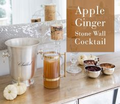 Apple Ginger Cocktail