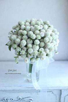 globe amaranth bouquet