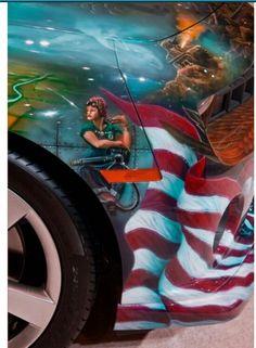 #6 US Military Camaro