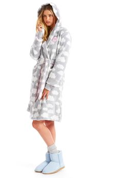 Image for Cloud Hooded Gown from Peter Alexander