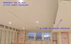 Drywall ceilings Drywall Ceiling, Pot Lights, Ceilings, Basement, Decor, Decoration, Dekoration, Inredning