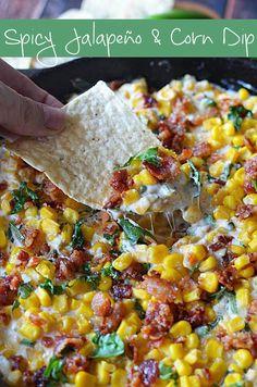 Spicy Jalapeño And Corn Dip