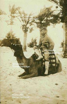Sinai desert, Arab or Turkish translator for the Germans   Flickr