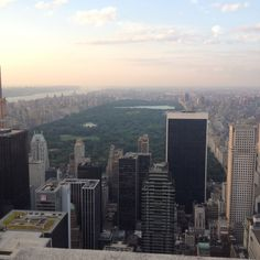 Top of 30 Rock in NYC