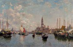 Martín Rico - Vista de Venecia #1