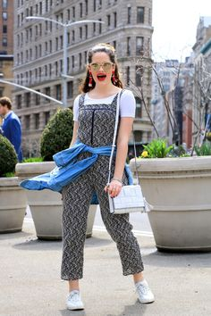 How to wear a jumpsuit -- spring street style