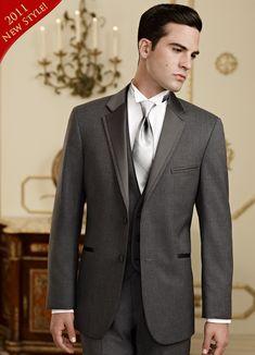 Dark Charcoal Tuxedo - Jean Yves Grey 'Twilight'
