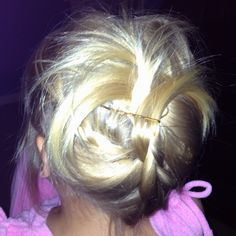 Little kid hair updo