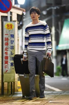 Men Sweater, Japanese, Poses, News, Celebrities, Face, Sweaters, Style, Fashion