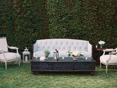 Earthy Chic and Elegant California Wedding - MODwedding