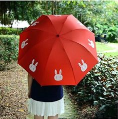 """This cute rabbit umbrella that will make you feel like Usagi Tsukino.   25 Adorable """"Sailor Moon"""" Products You Can't Live Without"""
