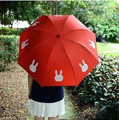 A cute rabbit umbrella that will make you feel like Usagi Tsukino.