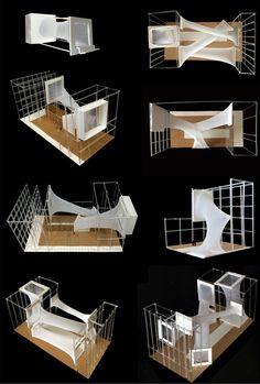 student project the Urban Courtyard Mentors: Atrey Chhaya, Dipal Chhaya, Design Studio // Semester VII submitted by ayushgangwal. Conceptual Model Architecture, Parametric Architecture, Architecture Student, Concept Architecture, Architecture Design, Urban Concept, Kids Play Spaces, Temporary Housing, Arch Model
