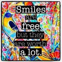 Smiles are free, but they are worth a lot...http://startpure.com #startpure #startpurepro